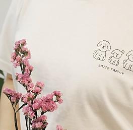 [출시기념 세일] 라떼티셔츠